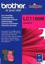 orig. Brother Tintenpatrone LC-1100M magenta/rot