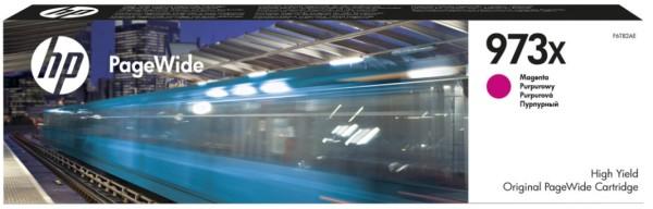 Orig. Tintenpatrone HP F6T82AE Nr. 973X magenta, ca. 7000 Seiten