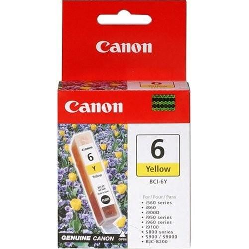 orig. Canon Tintenpatrone BCI-6 Y yellow/Gelb
