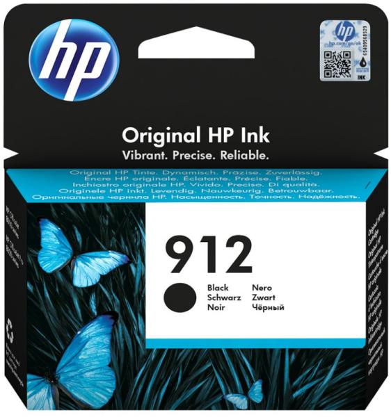 Orig. Tintenpatrone HP 3YL80AE Nr. 912 black/schwarz