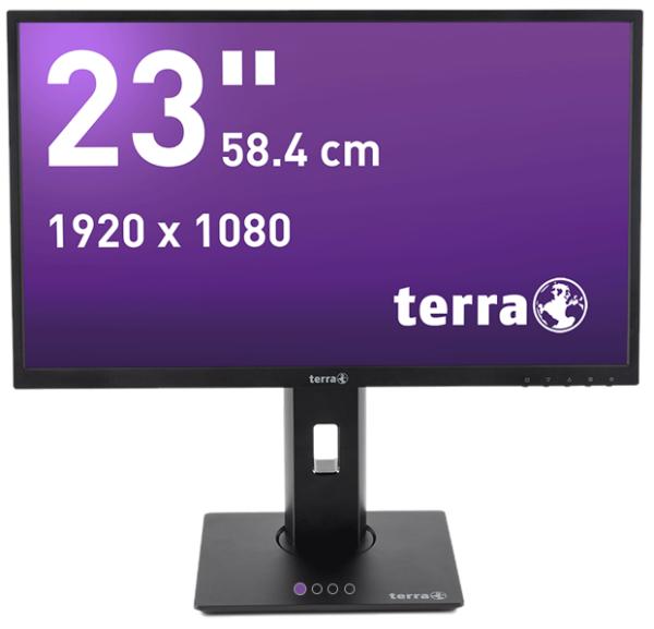 """TERRA LED 2311W PV 23"""" schwarz HDMI GREENLINE PLUS Schwarz"""