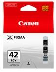 orig. Tintenpatrone CANON CLI-42LGY grey/hell grau, 835 Fotos