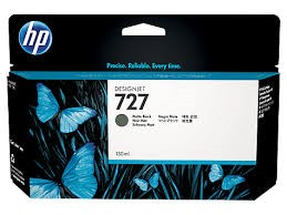 Orig. HP Tintenpatrone B3P22A Nr.727 Matt Black