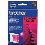 orig. Brother Tintenpatrone LC-1000M magenta/Rot