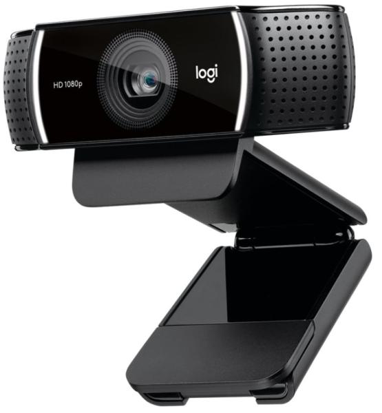 Logitech Webcam C922, 60 fps, 1920 x 1080 Pixel Videoauflösung, Autofokus, inkl. Stativ, Stereoklang