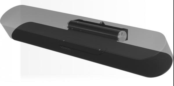 Flexson FLXBWM1021 Wandhalter für Sonos Beam schwarz