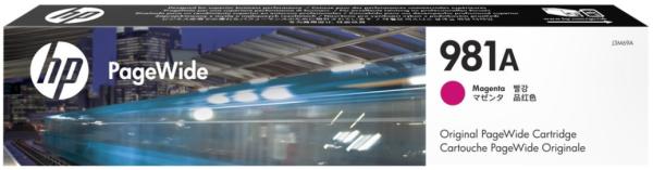 Orig. Tintenpatrone HP J3M69A Nr. 981A mangenta/rot, ca. 6000 Seiten