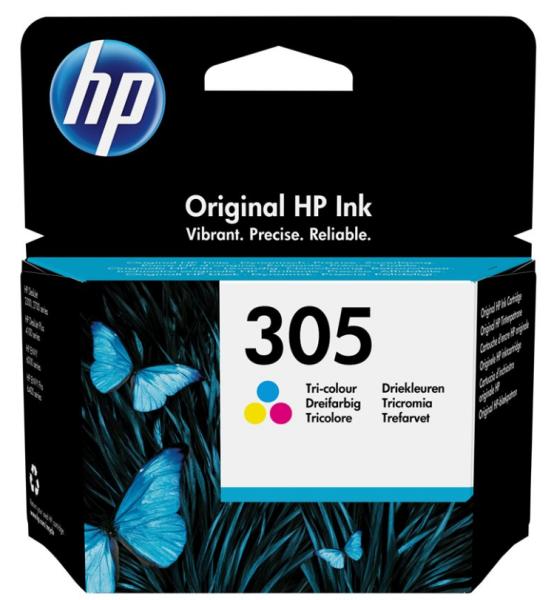 orig. HP Tintenpatrone 3YM60AE Nr. 305 Color/Farbe