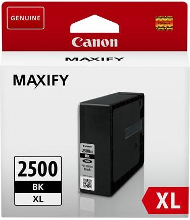 orig. CANON PGI-2500XL BK Tinte Schwarz bis 2500 Seiten