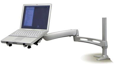Ergotron LX Notebook Arm, Tischmontage, silber