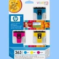 Orig. Tintenpatrone HP CB333EE Nr.363 3-Pack