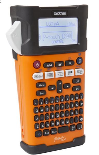 Brother P-Touch PT-E300VP - Beschriftungsgerät - s/w - Thermodirekt - inkl. Hartschalenkoffer