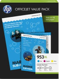 orig. Tintenpatrone HP 953XL CMY OfficeJet Value Pack ca. 1600 Seite pro Patrone