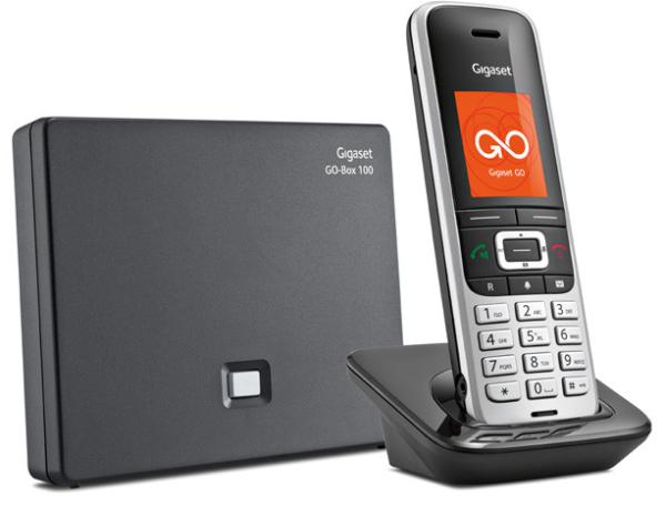 Gigaset · S850A GO IP Dect SLT Clip sw (schwarz, platinschwarz) Schnurlostelefon